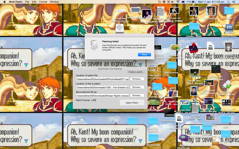 Using Nups on Virtual box on Mac - Questions - Fire Emblem