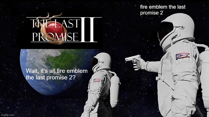 fire emblem the last promise 2