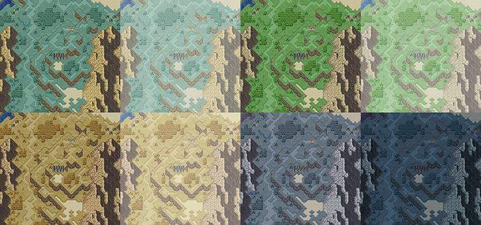 Palette Comparisons + Fog