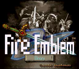 Fire Emblem 4 Binary: English Translation (v0 7) - Projects