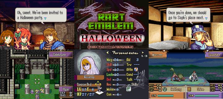 FE8] Rart Emblem: Halloween - Projects - Fire Emblem Universe
