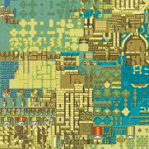 Updated Village Tileset