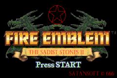 Fire Emblem ~ The Sadist Stones II