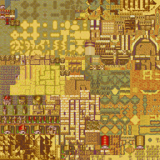 Updated Village Tileset Sunset 2
