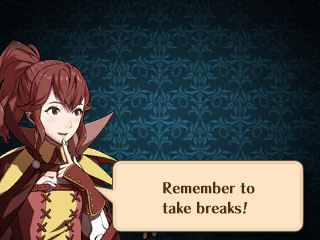Remember to take breaks!
