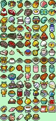 Item Icons (Food)