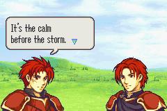 Calm Storm Screen