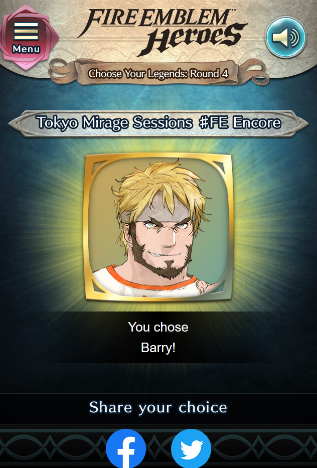 Choose Your Legends Round Four Community Fire Emblem Universe Fire emblem heroes choose your legends round 3 results amp reactions quot amazing results quot. choose your legends round four