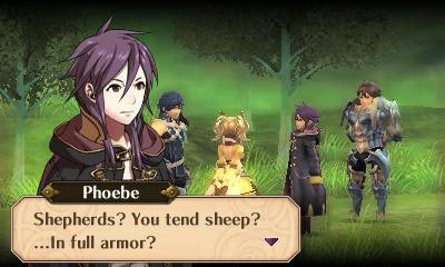 tend sheep in full armor
