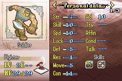 fe 8 wild mode fighter 2 stats