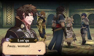 Away, Woman!