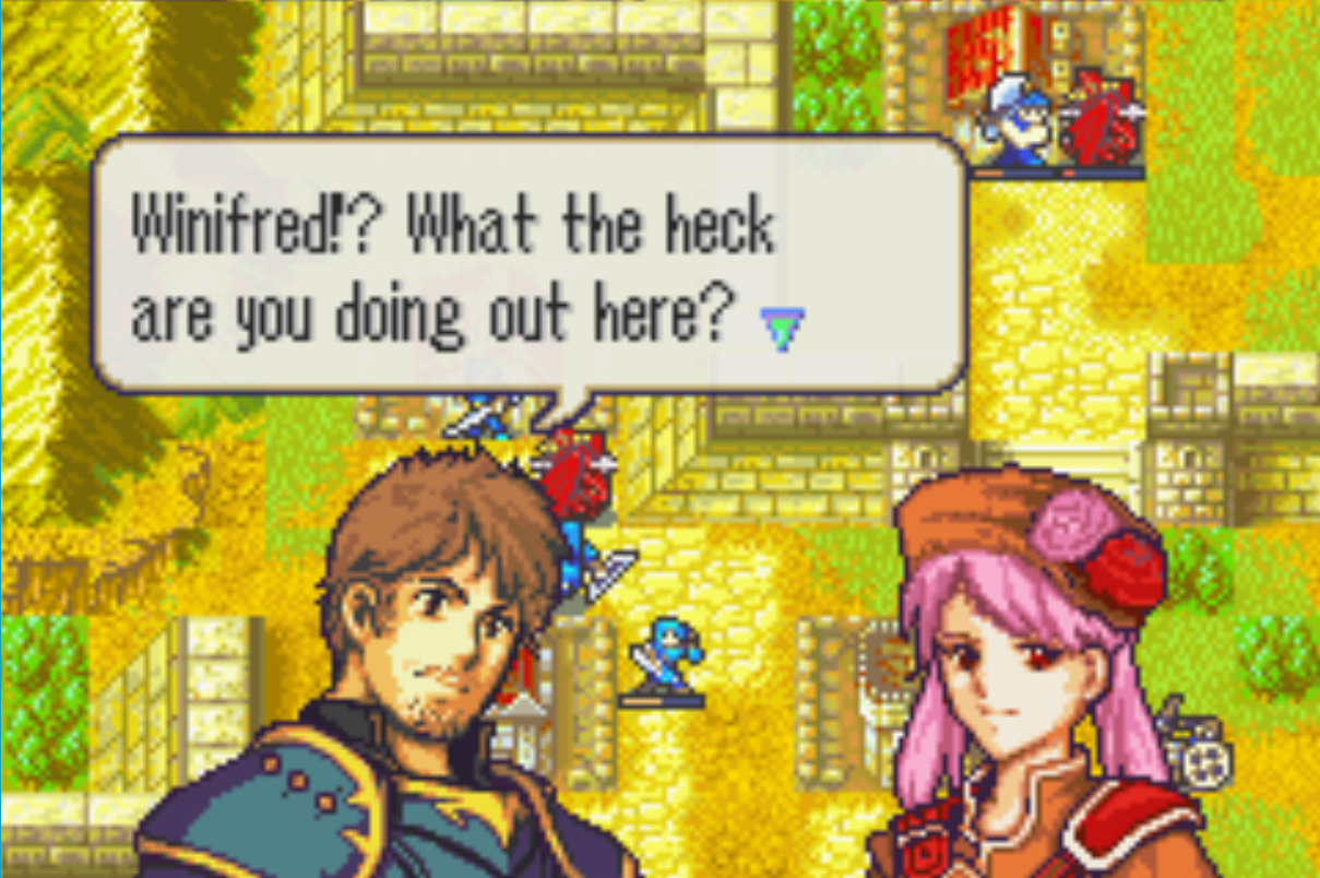 Fire Emblem: The Lonely Mirror (New FE8 ROM Hack) - Projects