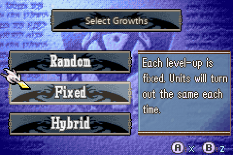 Fixed Growths