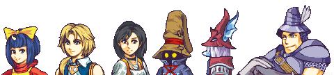 Final Fantasy 9 sprites